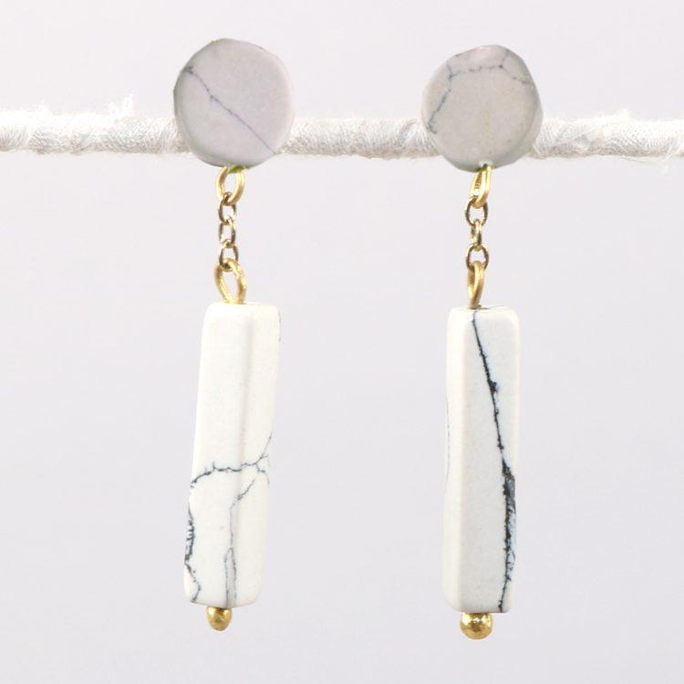 Clay bead earrings   TradeAid