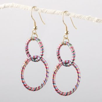 Double hoop earrings | TradeAid