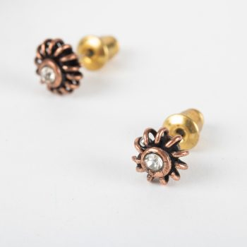 White stud earrings | TradeAid