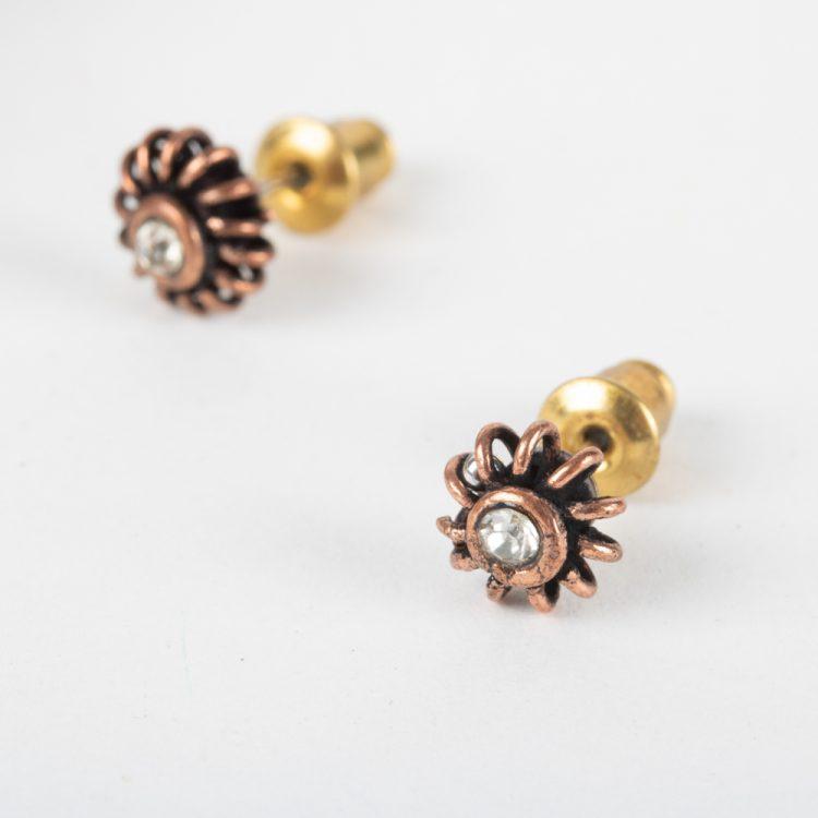 White stud earrings | TradeAid