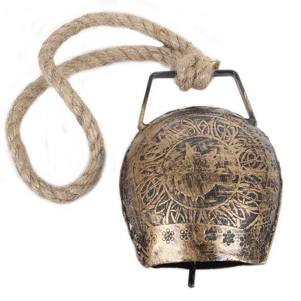Bell with engraved bird design | TradeAid