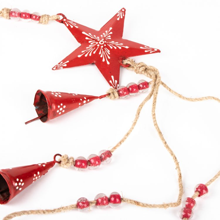Red star and bell hanging | Gallery 1 | TradeAid
