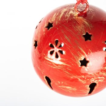 Red metal ball hanging | Gallery 2 | TradeAid