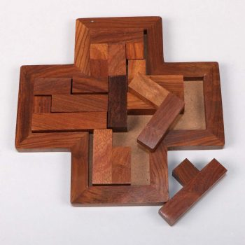 Sheeshamwood cross puzzle | Gallery 1 | TradeAid