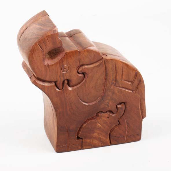Elephant puzzle box   TradeAid