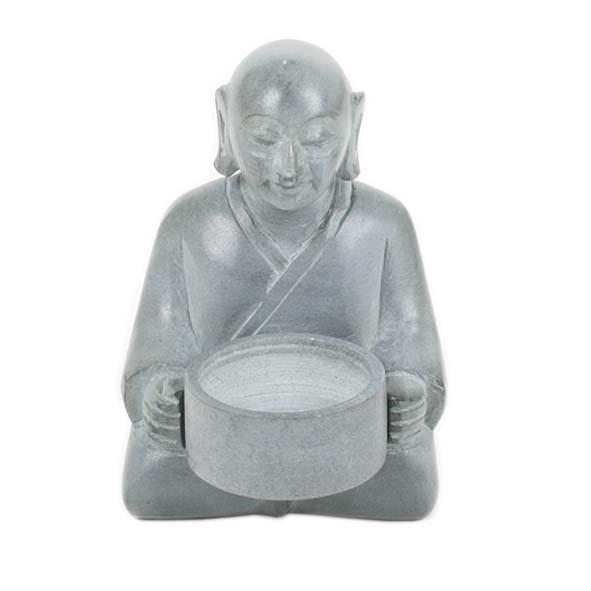 Buddha stone candle holder | TradeAid