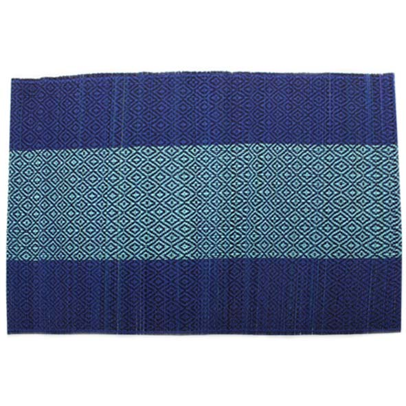 Navy and teal table mat | TradeAid