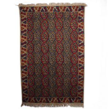 Paisley kalamkari rug | TradeAid
