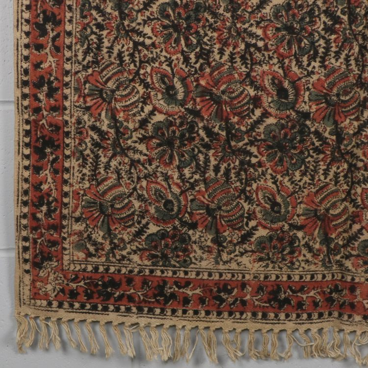 Small kalamkari design rug | TradeAid