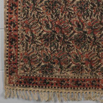 Large kalamkari design rug | TradeAid