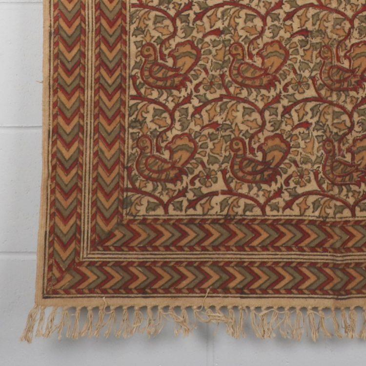 Medium kalamkari rug | Gallery 1 | TradeAid