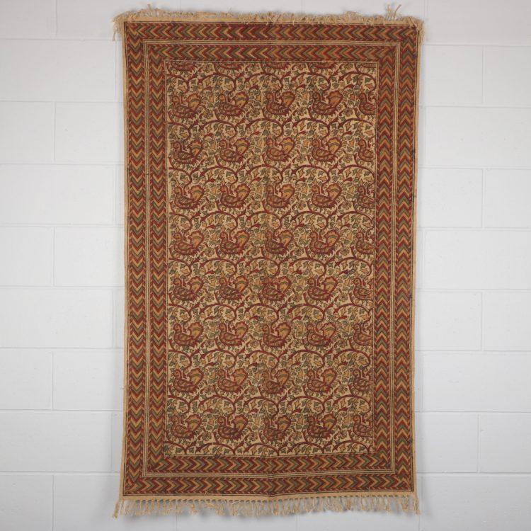 Medium kalamkari rug | TradeAid