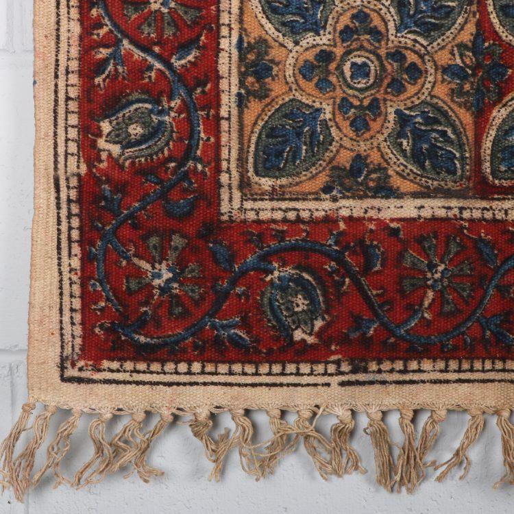 Small geometric floral rug | TradeAid