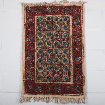 Small geometric floral rug | Gallery 1 | TradeAid