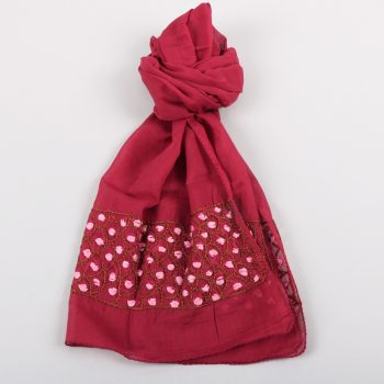 Red cotton scarf | TradeAid