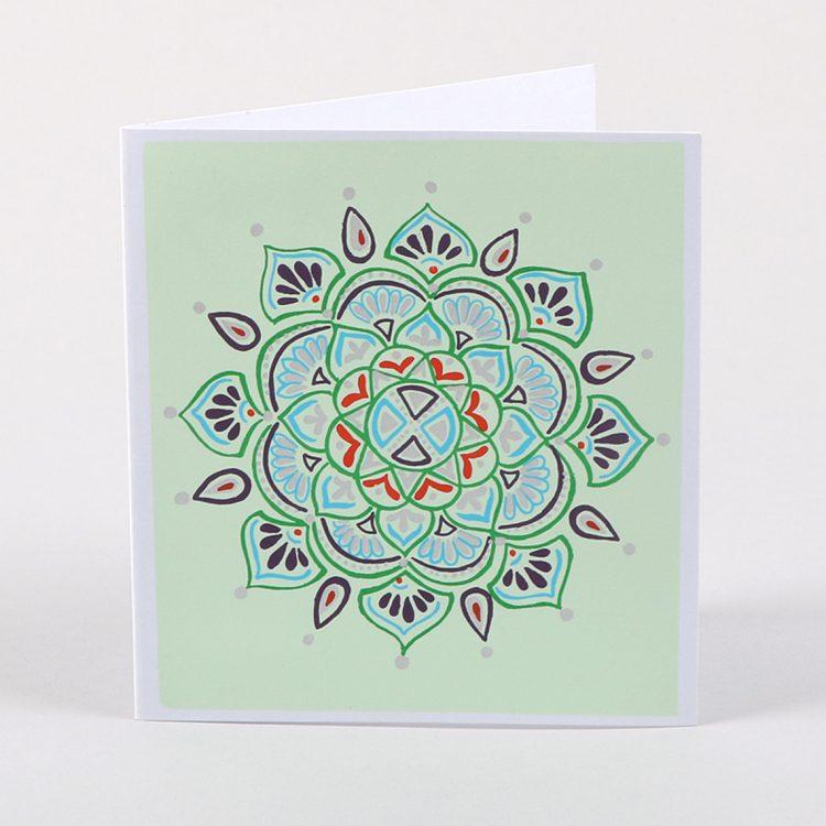 Mandala card   TradeAid