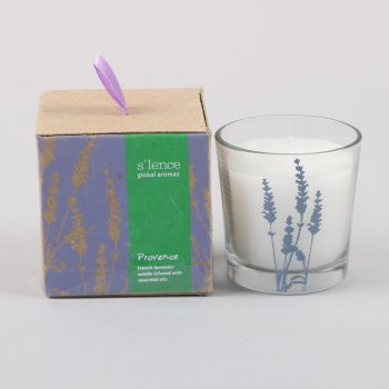 Small provence french lavender scented candle | TradeAid