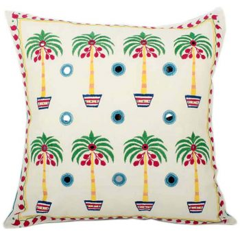 Coconut palm cushion cover | TradeAid