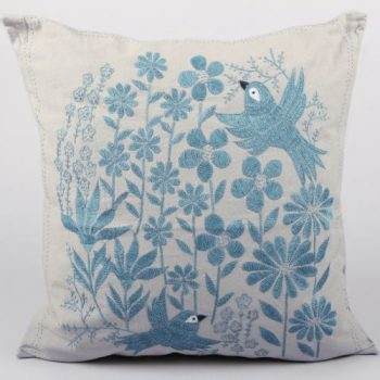 Bird and flower cushion cover | TradeAid