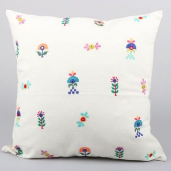 Floral designs cushion cover | TradeAid