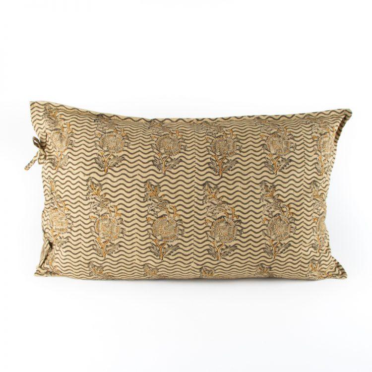 Floral stripe pillowcase   TradeAid