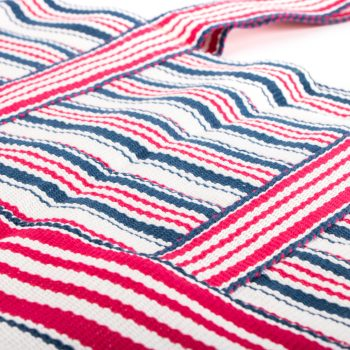 Red and blue stripe shopper   Gallery 2   TradeAid