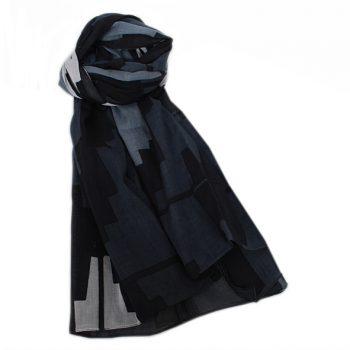 Monochrome cotton scarf | TradeAid