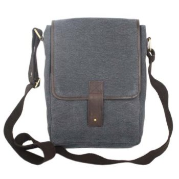 Stone canvas satchel   TradeAid