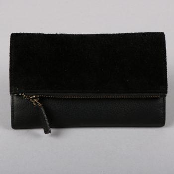 Black leather and suede wallet | Gallery 2 | TradeAid
