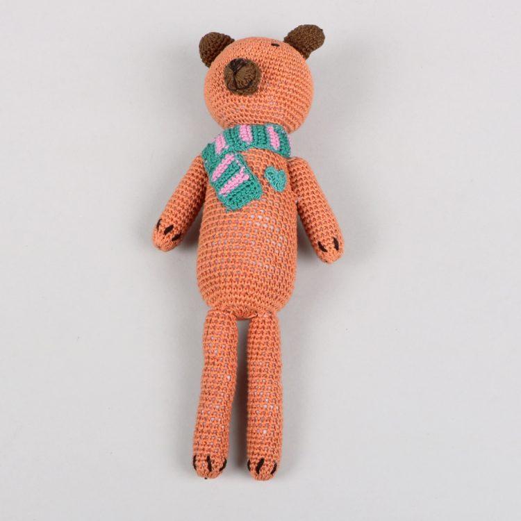 Crochet brown bear | Gallery 1 | TradeAid