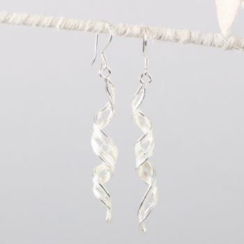 Filigree twist earrings | TradeAid