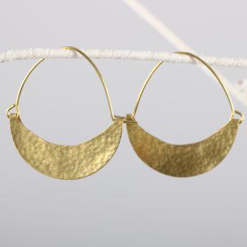 Boat hoop earring | TradeAid