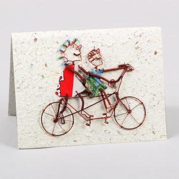 Tandem bike card | TradeAid