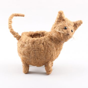 Cocofibre cat planter | TradeAid