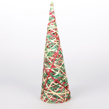 Coloured cone christmas tree | TradeAid