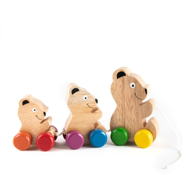 Bear pull toy | TradeAid