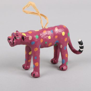 Paper mache leopard hanging | TradeAid