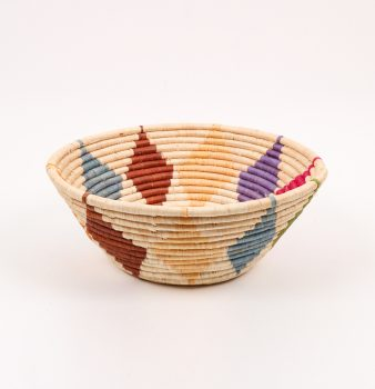 Multicoloured diamond design bowl | TradeAid