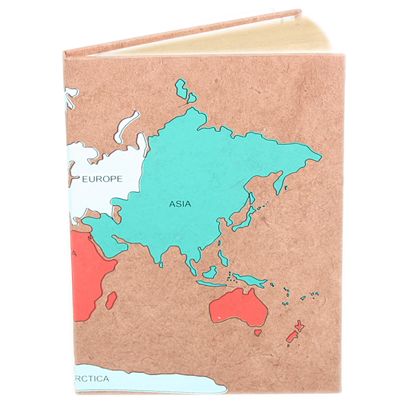 World map notebook | TradeAid