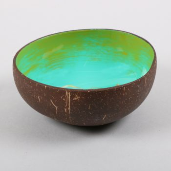 Floral coconut shell bowl | Gallery 1 | TradeAid