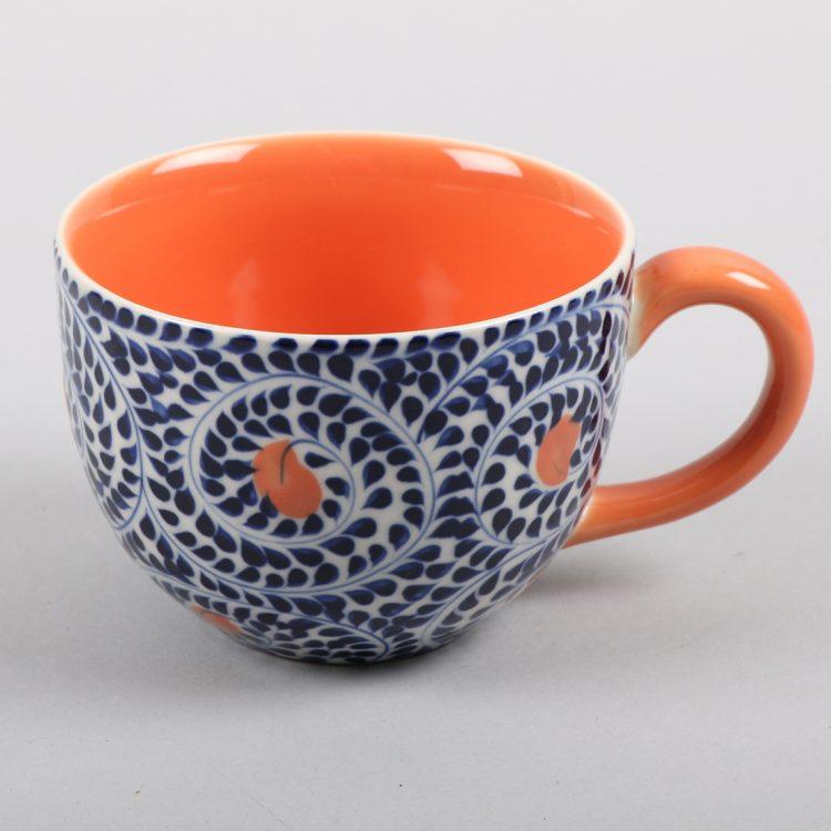Blue spiral teacup | TradeAid
