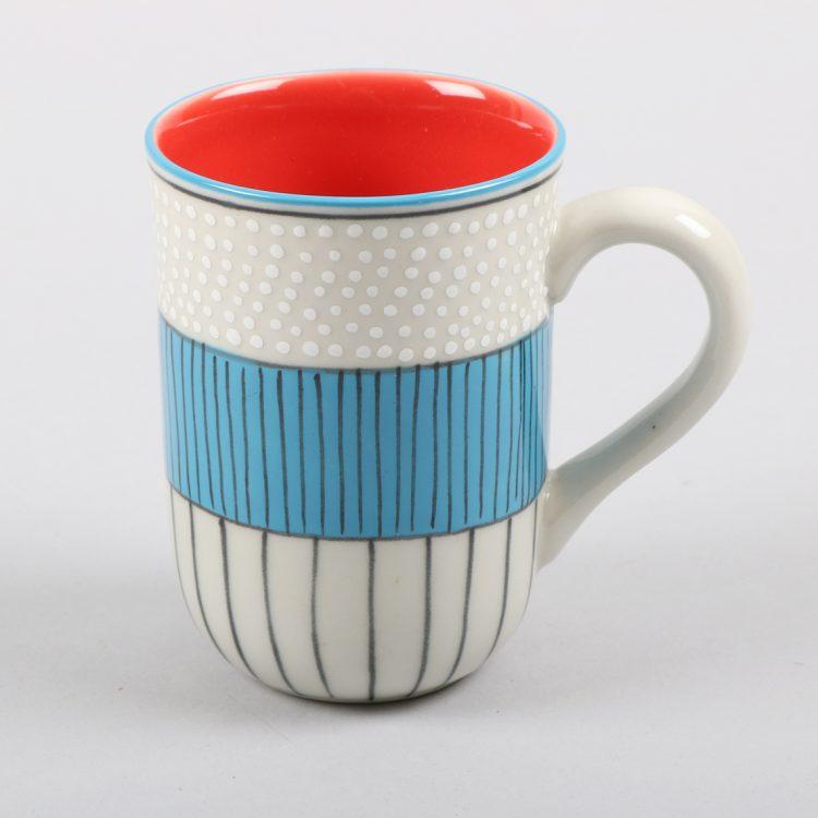 Multi stripe mug   TradeAid