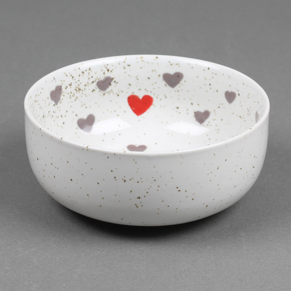 Speckled heart bowl | TradeAid