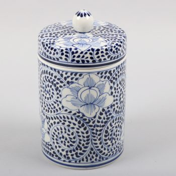 Blue swirl canister | TradeAid