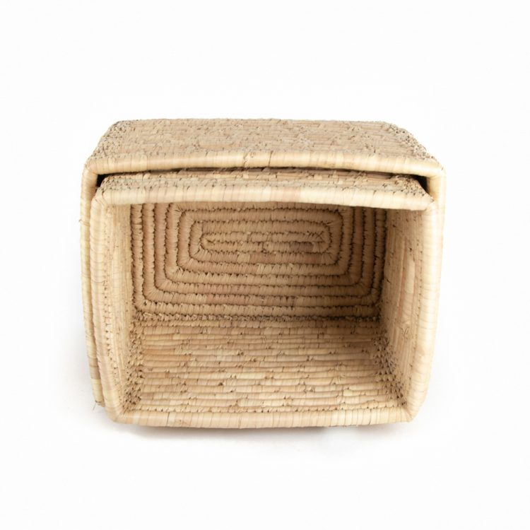Date palm magazine basket (set of two) | Gallery 1 | TradeAid