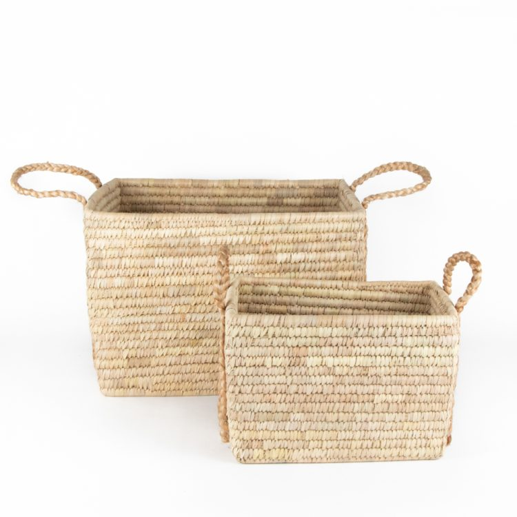 Date palm baskets (set of two) | Gallery 2 | TradeAid