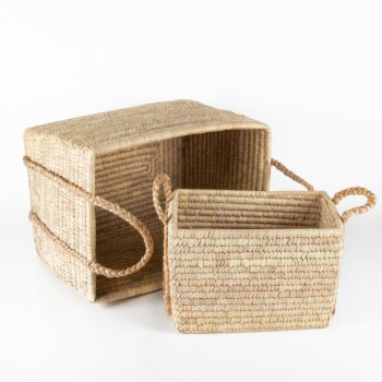Date palm baskets (set of two) | TradeAid
