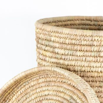 Date palm laundry baskets (set of two) | Gallery 2 | TradeAid