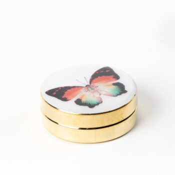 Butterfly metal pill box | TradeAid