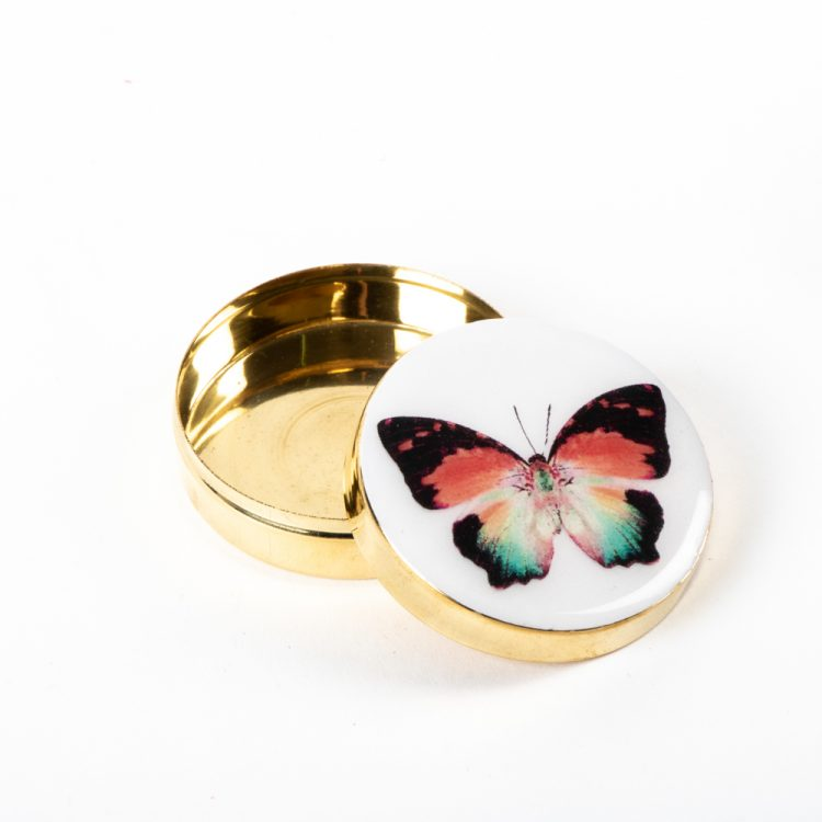 Butterfly metal pill box | Gallery 1 | TradeAid